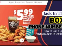 Jack in the Box Phone Number