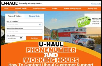 U-haul Phone Number And Working Hours