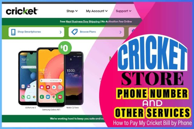 Cricket Store Phone Number And Other Services