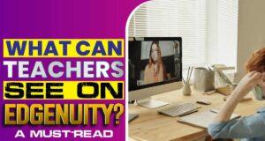 What Can Teachers See On Edgenuity