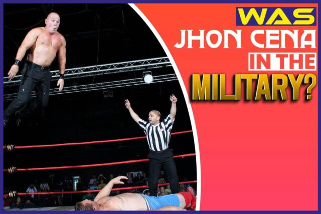 Was John Cena In The Military